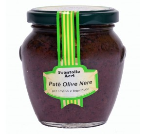 Paté olive nere